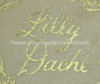 Lilly Dache Signature