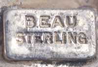 Beaucraft Beau Sterling Hallmark