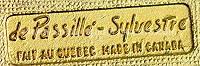 de Passille- Sylvestre Hallmark