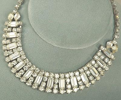 Amazing Adornments Enchanting Vintage Rhinestone Collar