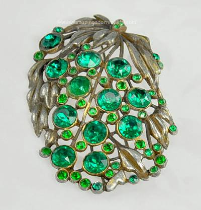 Think, that Vintage rhinestone brooches unsigned opinion